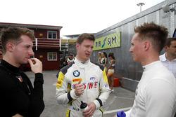 Mirko Bortolotti, FFF Racing Lamborghini Huracán GT3; Nicky Catsburg, Rowe Racing BMW M6 GT3; Renger