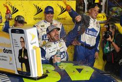 2016 Champion and race winner Jimmie Johnson, Hendrick Motorsports Chevrolet