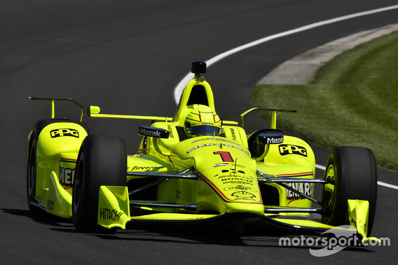 #1 Simon Pagenaud, Menards / Chevrolet