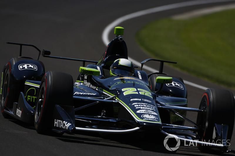 6. Juan Pablo Montoya, Team Penske, Chevrolet