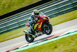 #69 Ecurie Chrono Sport, Kawasaki ZX 10R: Julien Pilot, Stéphane Pagani, Louis Rossi