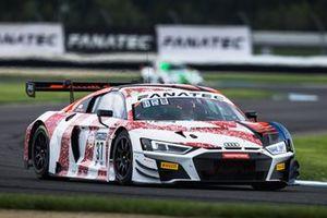 #37 Audi Sport Team WRT Audi R8 LMS GT3: Robin Frijns, Nico Müller, Mattia Drudi