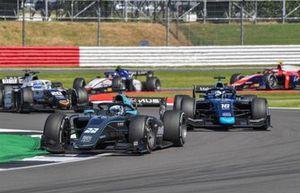 Jack Aitken, HWA Racelab, Roy Nissany, Dams, and Matteo Nannini, Campos Racing