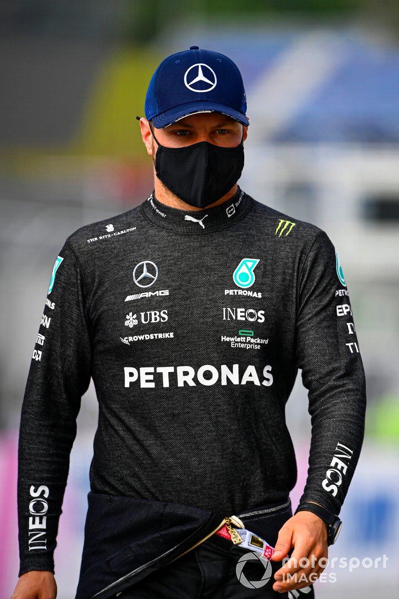 Segundo lugar Valtteri Bottas, Mercedes