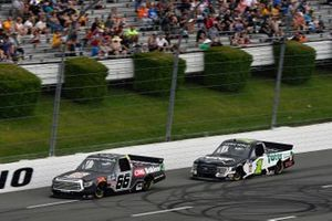 Ty Majeski, ThorSport Racing, Toyota Tundra CRC Brakleen and Hailie Deegan, Team DGR, Ford F-150 Toter