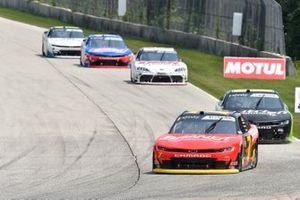 Justin Allgaier, JR Motorsports, Chevrolet Camaro BRANDT, Jeb Burton, Kaulig Racing, Chevrolet Camaro Nutrien Ag Solutions