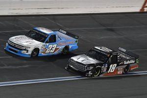 Chase Purdy, GMS Racing, Chevrolet Silverado BamaBuggies.com, Chandler Smith, Kyle Busch Motorsports, Toyota Tundra Safelite AutoGlass