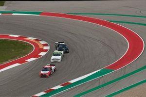 Tanner Gray, Team DGR, Ford F-150 Ford Performance, Parker Chase, Kyle Busch Motorsports, Toyota Tundra Vertical Bridge, Hailie Deegan, Team DGR, Ford F-150 Monster Energy