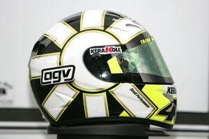 Helmet of Valentino Rossi, Yamaha Factory Team