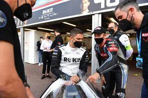 Edoardo Mortara, Venturi Racing, con Max Biaggi