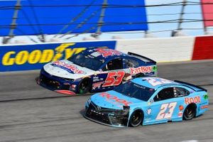 Bubba Wallace, 23XI Racing, Toyota Camry Root Insurance, J.J. Yeley, Rick Ware Racing, Ford Mustang Fat Boy Ice Cream