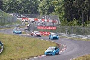 Start action, Yvan Muller, Cyan Racing Lynk & Co Lynk & C0 03 TCR leads