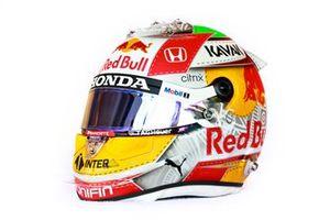 El casco de Sergio Pérez, Red Bull Racing