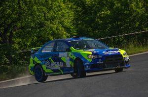 Artur Równiatka, Wojciech Habuda, Mitsubishi Lancer Evo X