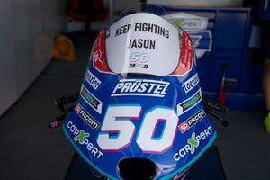 La moto de Jason Dupasquier, Carxpert PruestelGP