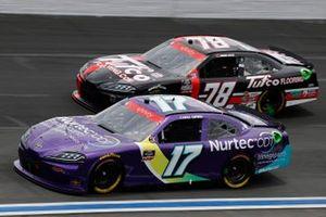 Cody Ware, SS Green Light Racing, Ford Mustang Nurtec ODT, Jesse Little, B.J. McLeod Motorsports, Chevrolet Camaro