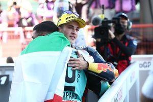 Race winner Dennis Foggia, Leopard Racing