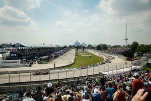 Patricio O'Ward, Arrow McLaren SP Chevrolet lidera bandera verde