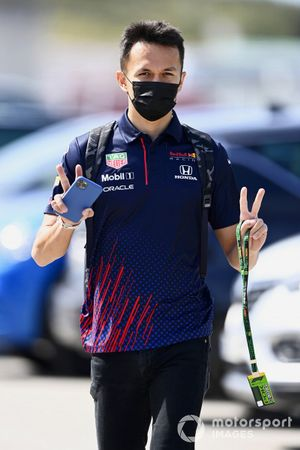 Alex Albon, Reserve Driver, Red Bull Racing