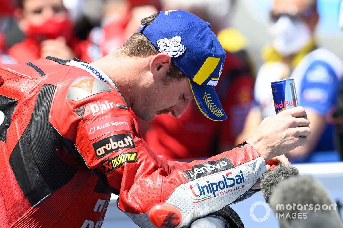 Il vincitore Jack Miller, Ducati Team