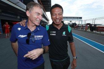 Lin Jarvis, , Yamaha Factory Racing, Razlan Razali, Petronas Yamaha SRT
