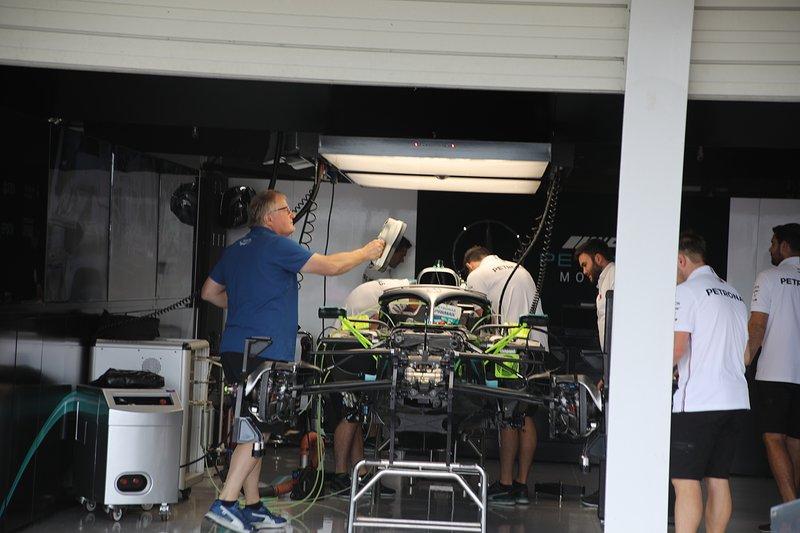 Mercedes F1 AMG W10