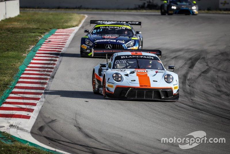 #20 GPX Racing Porsche 911 GT3 R: Benjamin Goethe, Stuart Hall, Jordan Grogor