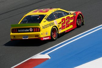 Joey Logano, Team Penske, Ford Mustang Shell Pennzoil/Autotrader