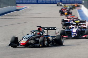 Leonardo Pulcini, Hitech Grand Prix and Pedro Piquet, Trident