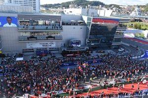 Fans in Sochi