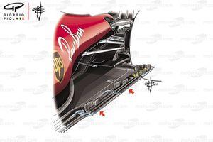 Ferrari SF90, floor