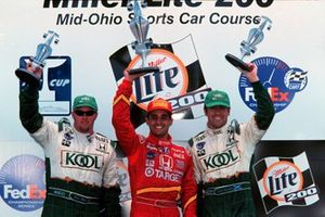 Podium: 1. Juan Pablo Montoya, 2. Paul Tracy, 3. Dario Franchitti