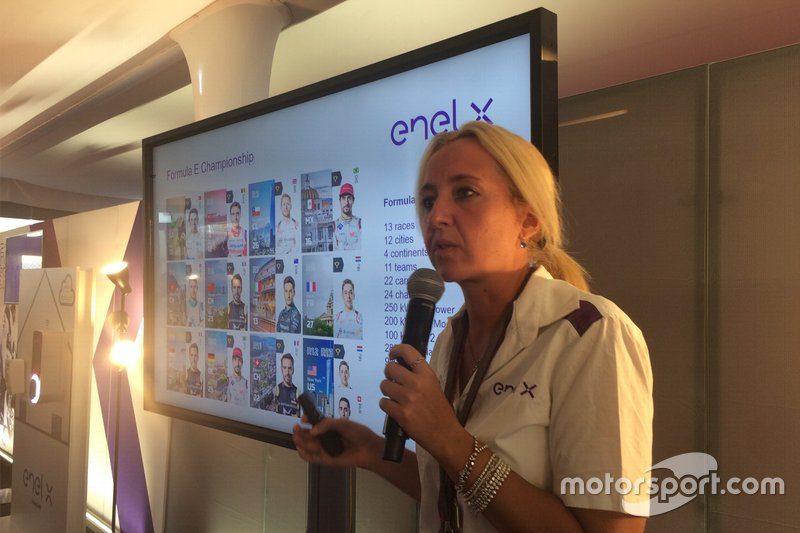 Ilaria Vergantini responsabile eMotorsport di Enel X