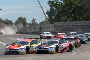 Shelton van der Linde, BMW Team RBM, BMW M4 DTM, Timo Glock, BMW Team RMG, BMW M4 DTM