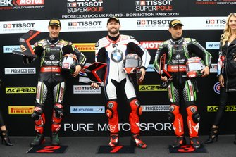 Jonathan Rea, Kawasaki Racing Team, Tom Sykes, BMW Motorrad WorldSBK Team, Leon Haslam, Kawasaki Racing Team