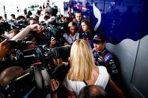 Naoki Yamamoto, Toro Rosso, parle à la presse