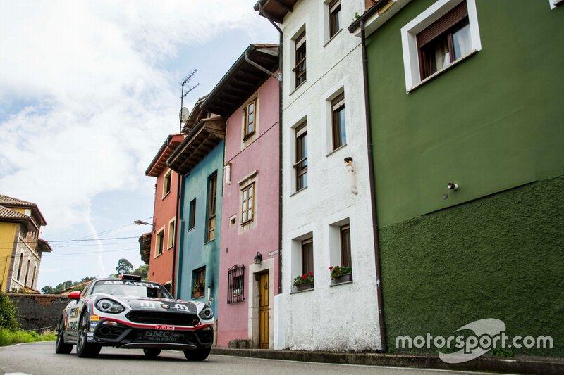 Alberto Monarri - Alberto Chamorro (Abarth 124 Rally R-GT