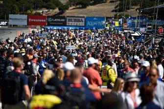 Pre-Race grid atmosphere