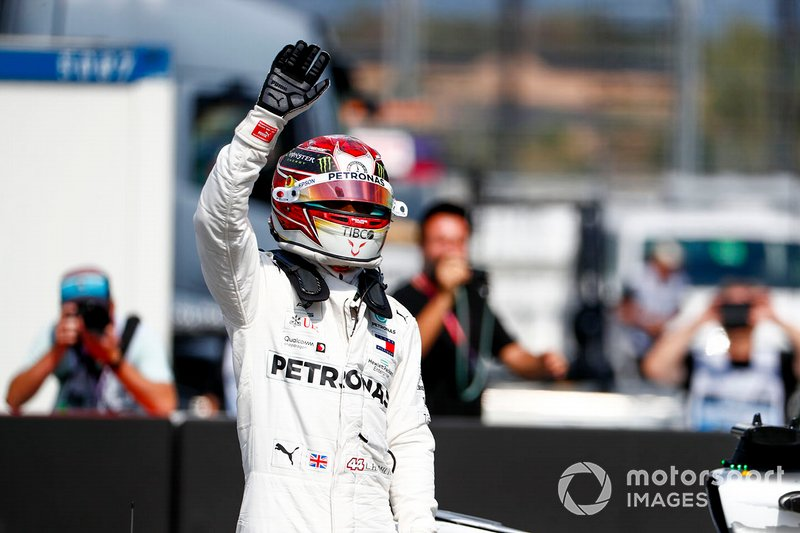 A pole do GP da Alemanha foi a 87ª e, até agora, última de Hamilton na F1