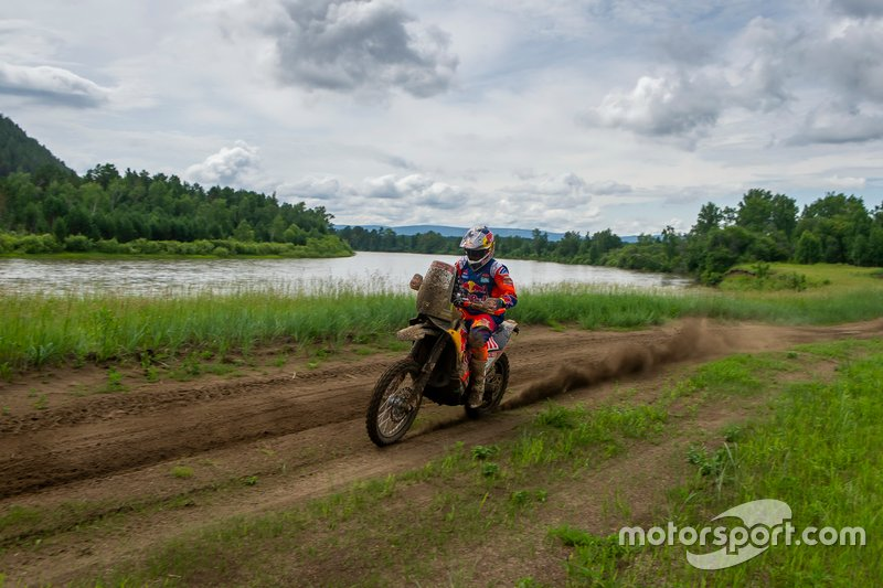 Sam Sunderland, Red Bull KTM Factory Team, KTM 450 Rally