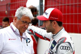 Ernst Moser, Audi Sport Sport Team Phoenix e Mike Rockenfeller, Audi Sport Team Phoenix