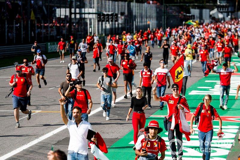 Festa da Ferrari na Itália