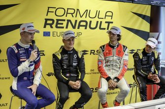 Press conference: Alexander Smolyar, R-ACE GP, Victor Martins, MP Motorsport, Lorenzo Colombo, MP Motorsport, Caio Collet, R-ACE GP
