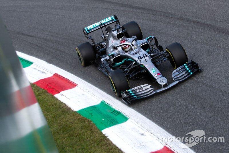 Lewis Hamilton, GP de Italia