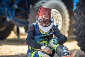 Piloto en el Silk Way Rally 2019