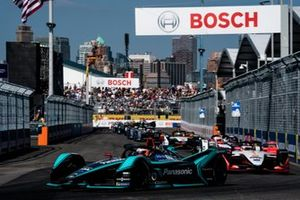 Mitch Evans, Panasonic Jaguar Racing, Jaguar I-Type 3, Pascal Wehrlein, Mahindra Racing, M5 Electro, Maximillian Gunther, GEOX Dragon Racing, Penske EV-3
