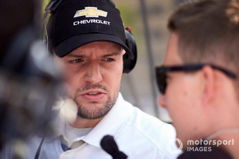 Simon Pagenaud, Team Penske Chevrolet engineer