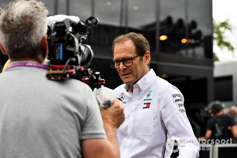Aldo Costa, Technical Advisor, Mercedes AMG
