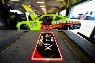 Brandon Jones, Joe Gibbs Racing, Toyota Supra Menards/Swiffer, Xfinity decal