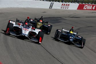 Marco Andretti, Andretti Herta with Marco & Curb-Agajanian Honda, Spencer Pigot, Ed Carpenter Racing Chevrolet